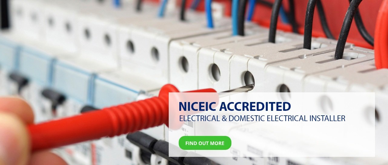 NICEIC Accredited Electrical Installation in Stafford